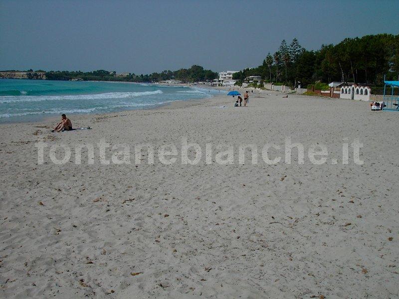 La spiaggia a ottobre