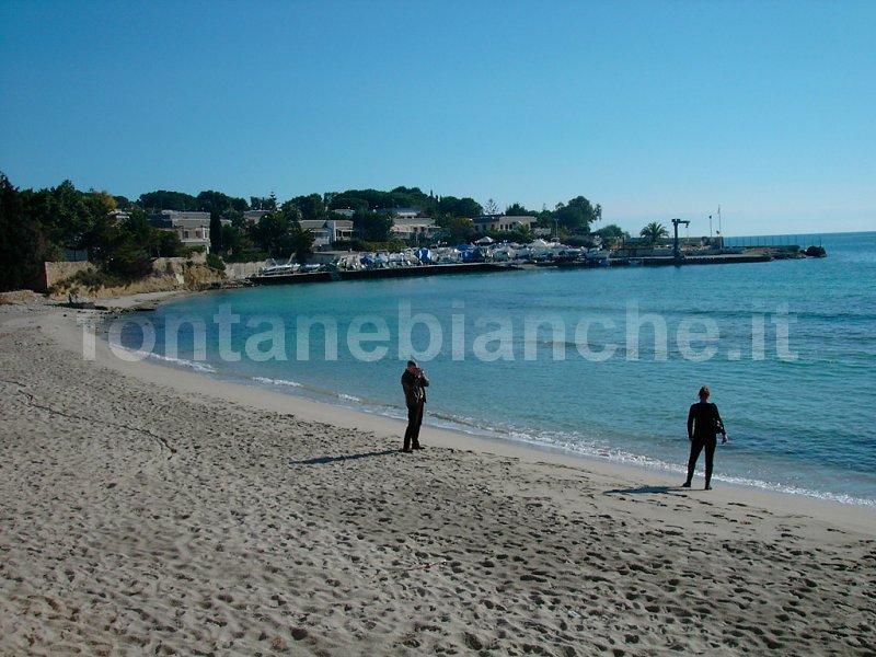 La spiaggia a novembre